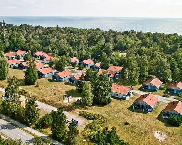 Abireisen Ferienpark Falster: Luftbild