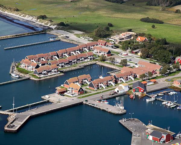 Klassenreisen Ferienpark Møn: Luftbild