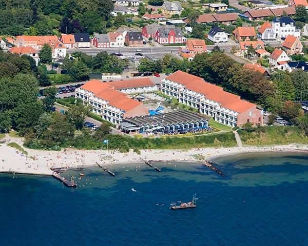 Klassenreisen Ferienpark Faaborg: Luftbild