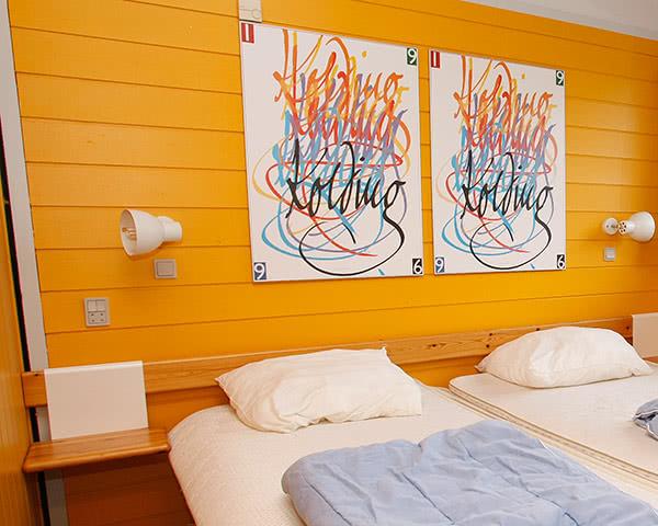 Abschlussfahrt Feriencenter Nordjütland- Zimmerbeispiel