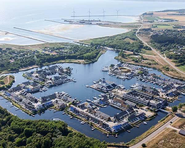 Gruppenfahrten Ferienpark Ebeltoft- Luftaufnahme