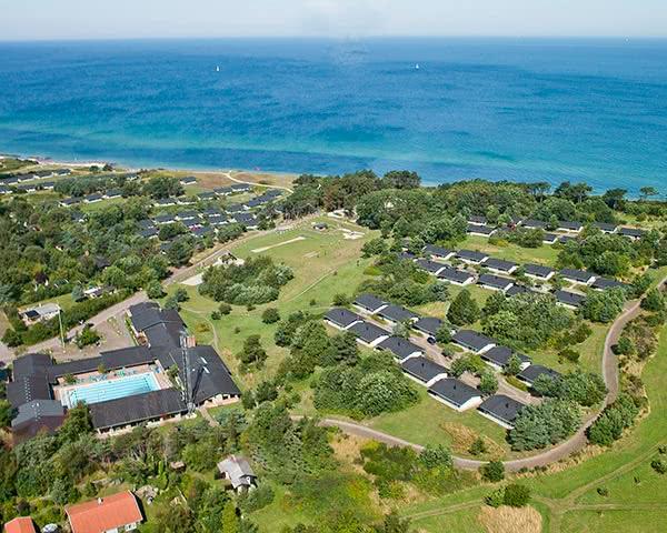 Schülerreise Ferienpark Seeland-Nord: Luftbild