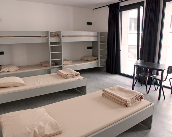 Kursreise Jugendherberge Antwerpen: Zimmerbeispiel
