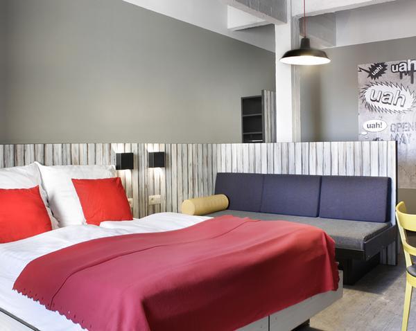 Klassenfahrten Brüssel - Meininger Hostel Dreibettzimmer