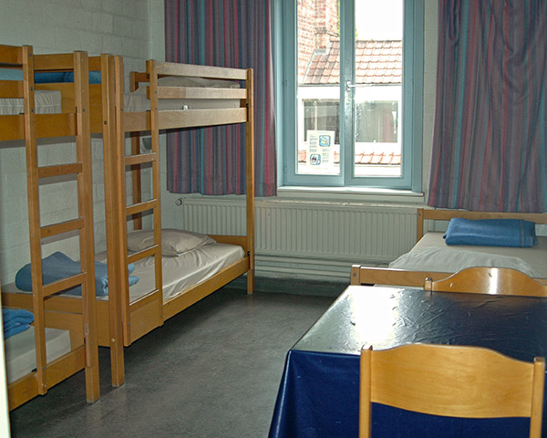 Schulreise Jugendherberge De Draecke: Zimmerbeispiel