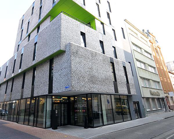 Abschlussreise Jugendherberge Oostende: Außenansicht