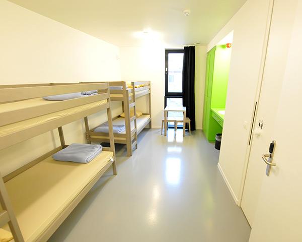 Kursreise Jugendherberge Oostende: Zimmerbeispiel