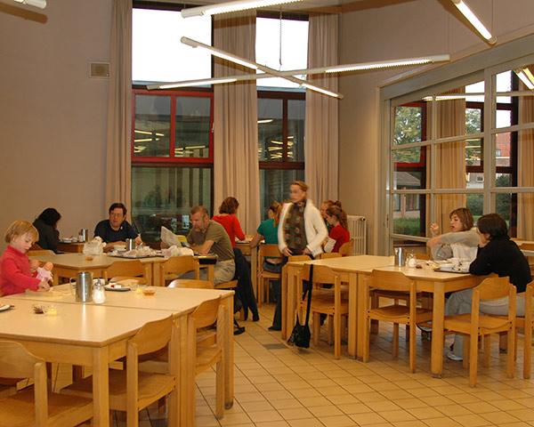 Studienreise Jugendherberge Europa: Speisesaal