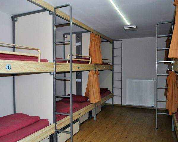 St. Christophers Inn Brügge - Zimmerbeispiel