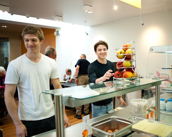 Klassenfahrten Jugendherberge Namur- Buffet