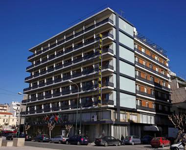 Jugendreise Griechenland Hotel Candia: Außenansicht