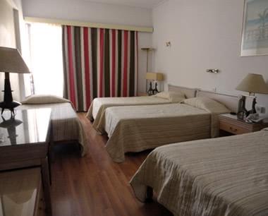 Klassenreisen Griechenland Hotel Candia: Zimmerbeispiel