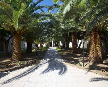 Kursfahrt Griechenland Hotel Portes Beach: Gartenanlage