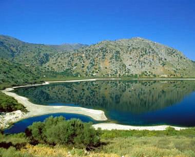 Klassenfahrt Athen: Eine Lagune