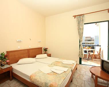 Gruppenreise 3-Sterne Strandhotel in Gouves: Zimmerbeispiel