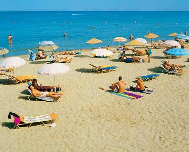 Klassenfahrt Kreta: Der Strand von Heraklion