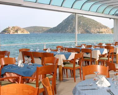 Studienfahrten Griechenland Hotel Flisvos: Restaurant