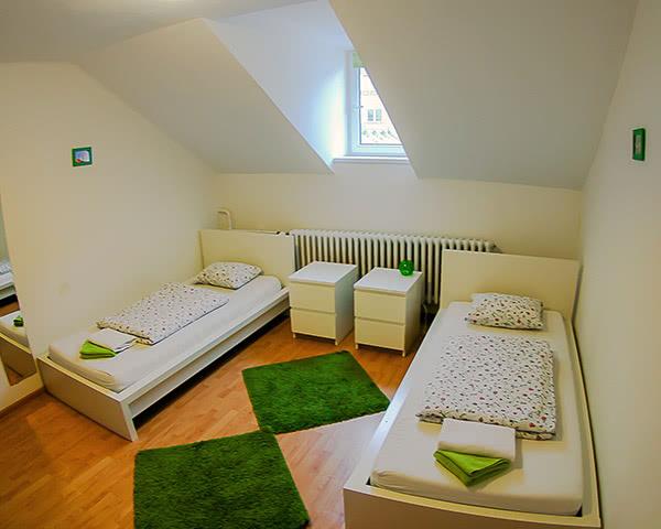 Jugendfahrten Patio Hostel- Zimmerbeispiel