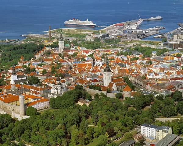 Studienreise Tallinn: Luftbild