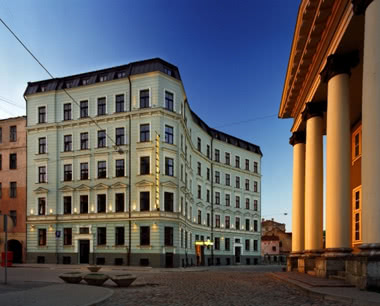 Schulfahrten Riga Hotel Hanza: Außenansicht