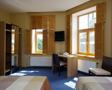 Kursfahrten Riga Hotel Hanza: Zimmerbeispiel