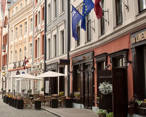 Abschlussreisen Kolonna Hotel: Außenansicht