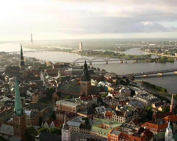 Klassenreise Riga: City of Riga