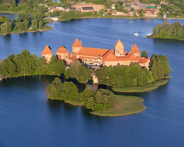 Kursfahrt Trakai- Inselburg