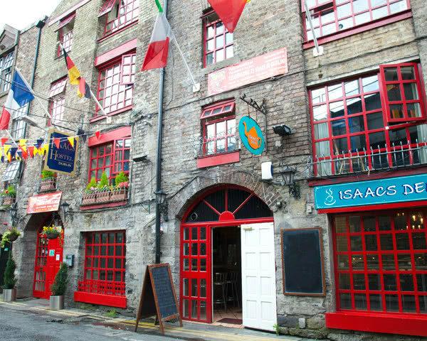 Klassenreise Dublin Isaacs Hostel- Außenansicht