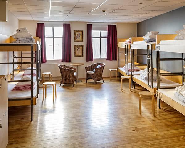 Schulreise Reykjavík City Hostel: Zimmerbeispiel