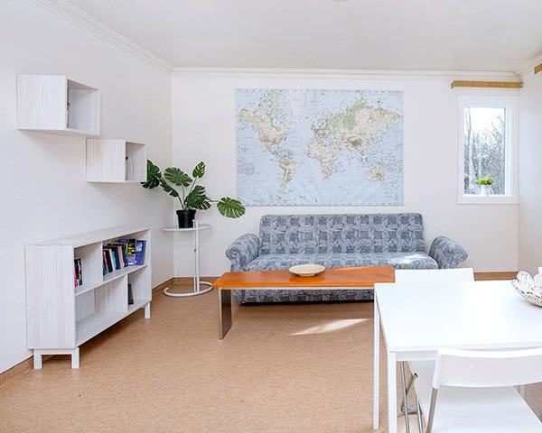Kursreise Hostel Village Reykjavík: Aufenthaltsraum