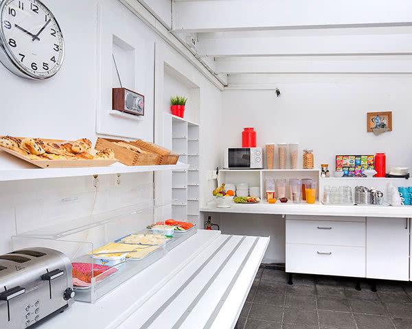 Jugendfahrt Hostel Village Reykjavík- Frühstück