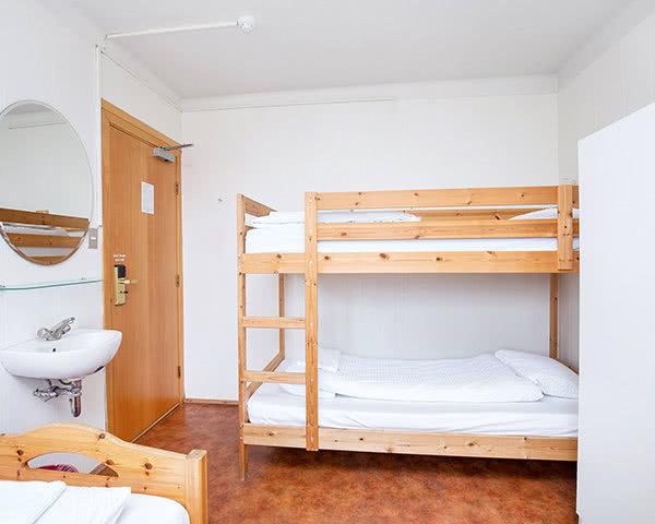 Abschlussfahrt Hostel Village Reykjavík- Zimmerbeispiel Triple