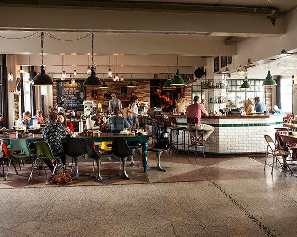 Studienreise Kex Hostel: Restaurant