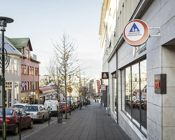 Studienreise Loft Hostel Reykjavík: Außenansicht