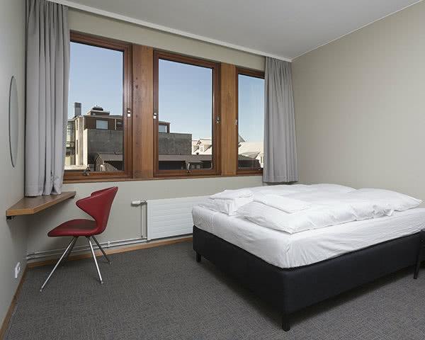 Jugendreisen Loft Hostel Reykjavík: Unterbringungsbeispiel Doppelzimmer