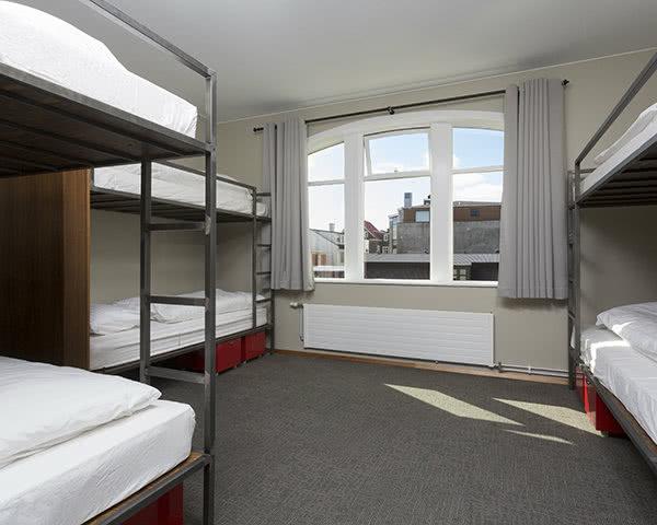 Schülerfahrt Jugendhostel Reykjavík im Zentrum- Mehrbettzimmer