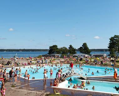 Studienreise Lysingsbadet Västervik Resort: Pool