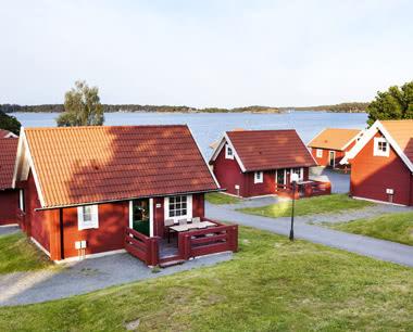 Schulfahrt Lysingsbadet Västervik Resort- Unterkunftsbeispiel