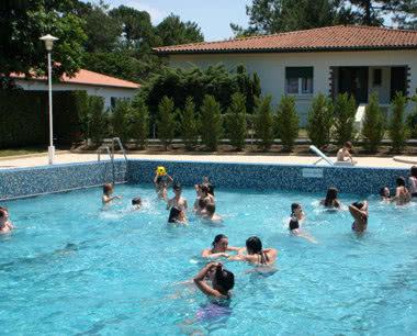 Schülerfahrt Domaine du Pignada- Pool