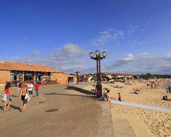 Schulreise Ferienanlage Albatros: Strand Vieux Boucau