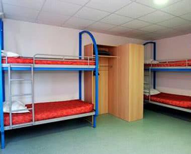 Schulfahrt Jugendzentrum Dijon - Zimmerbeispiel
