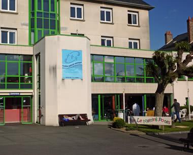 Klassenfahrt Internationales Jugendzentrum Saint Malo: Außenansicht