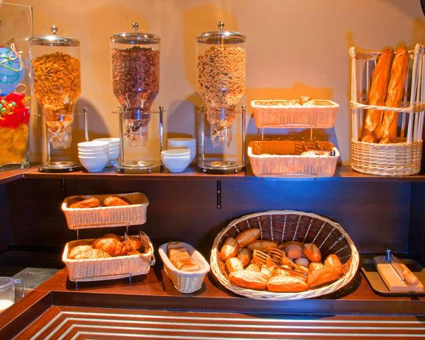 Abifahrt Hotel Comté de Nice: Buffet