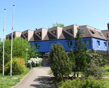 Klassenfahrt Jugendherberge Strasbourg: Eingang