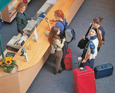 Kursfahrt Jugendtouristenzentrum Strasbourg: Empfang