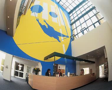 Schulreise Jugendtouristenzentrum Strasbourg- Foyer