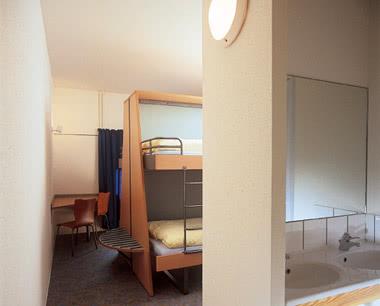 Klassenfahrten Jugendtouristenzentrum Strasbourg- Zimmerbeispiel