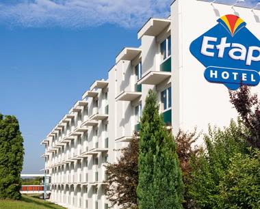 Klassenfahrt ETAP Hotel Le Havre Centre- Hotelbeispiel Außenansicht