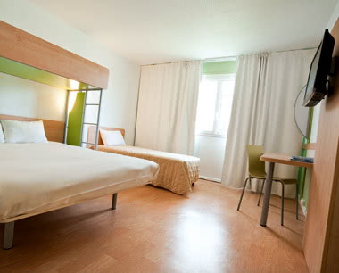 Kursfahrt ETAP Hotel Le Havre Centre- Zimmerbeispiel